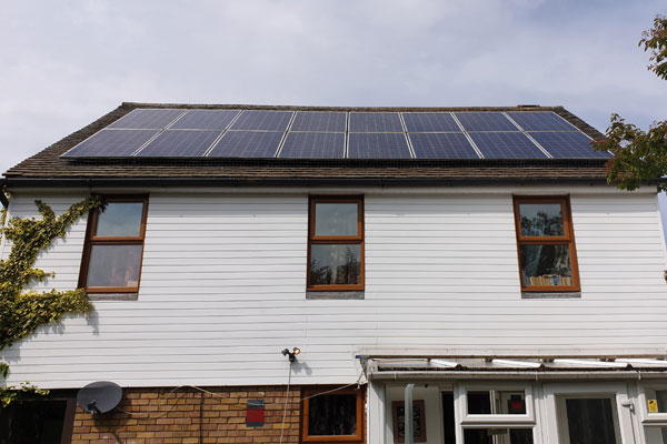solar panels pigeon proofing by pest id in southend essex