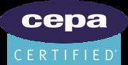 logo: c e p a certified